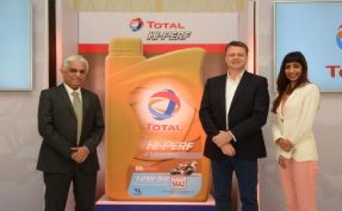 Total launches new range of lubricant for motorcycles in India