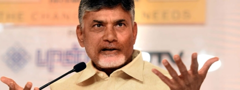 'Don't get demoralized, we will overcome the crisis' : Naidu to TDP leaders