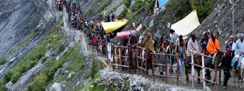 1457 pilgrims registered  for Amarnath Yatra on first day