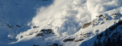 One killed, another injured in snow avalanche