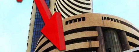 Sensex down by 89.40 pts