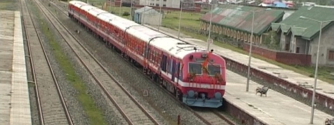 Train service remains suspended in Kashmir for security reasons