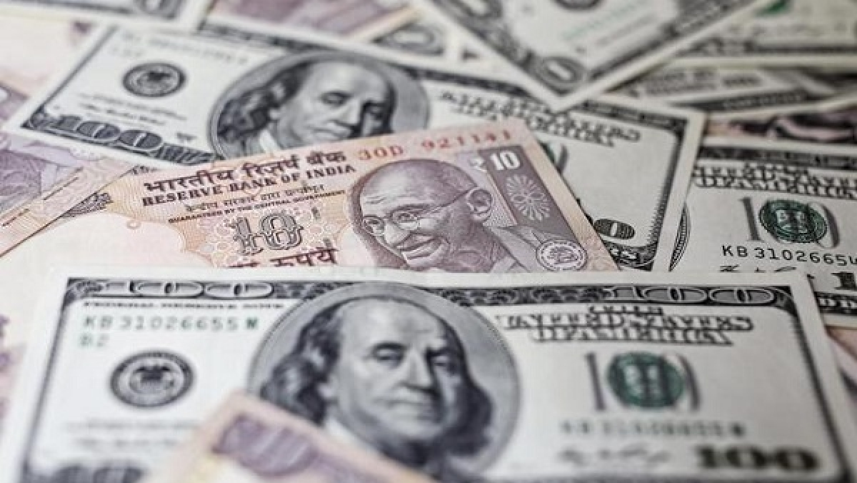 Rupee ends strong at 74.88 against USD