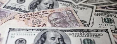 Rupee closes tad higher by one paise at 66.65 against USD