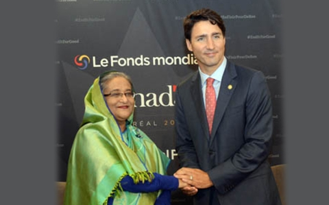 Hasina invited to G7 Summit in Canada