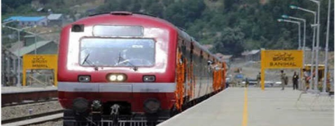 Train service suspended in south Kashmir for security reasons