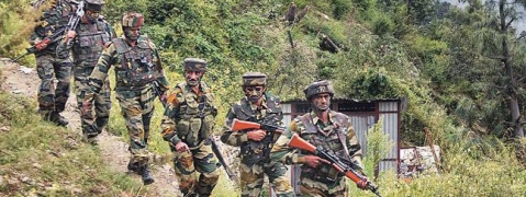 13 militants, 3 soldiers killed, several SF jawans injured in Kashmir encounters