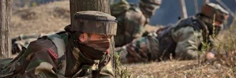 3 militants,1 soldier killed in encounter in Bandipora