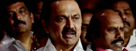 DMK front to hold human chain protest on Cauvery