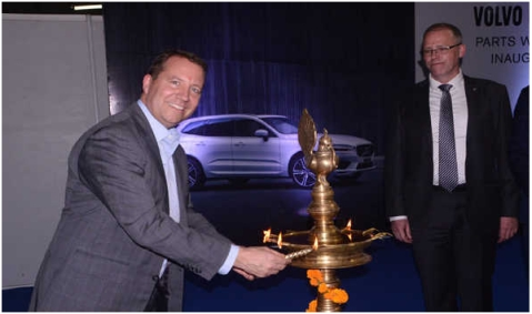 Volvo Car India opens National Parts Warehouse