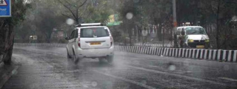 Record rain in Chandigarh