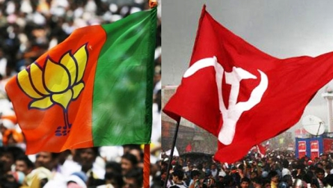 Bomb hurled at BJP office by CPI (M) activists