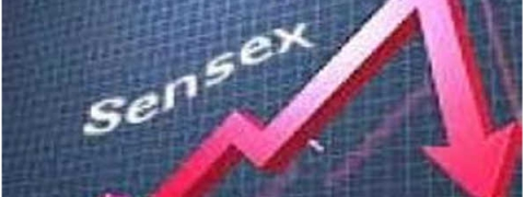 Sensex crashed by 351.56 pts
