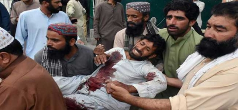 128 killed in Pak suicide bomb attack