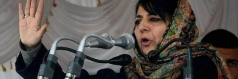 Mehbooba warns New Delhi of dire consequences if it tries to break PDP