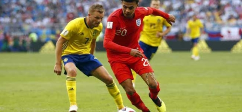 England outclass Sweden; enter World Cup semifinals
