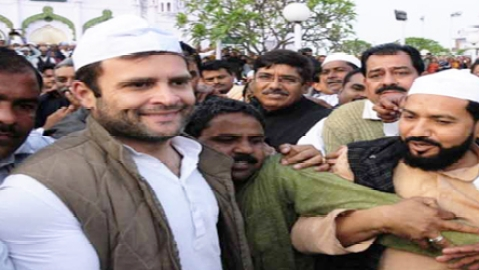 Cong downplays religious angle in Rahul's meeting with Muslim intellectuals