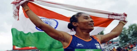 Hima named Assam sports ambassador; awarded Rs 1 6 cr