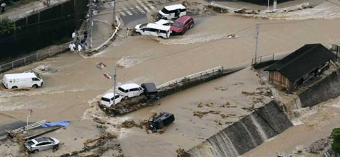 Japan floods: 126 killed due to torrential rain and landslides