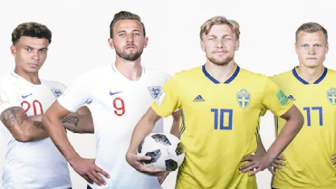 England face Sweden for semi-final place in Russia