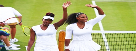 Wimbledon: Williams sisters happy