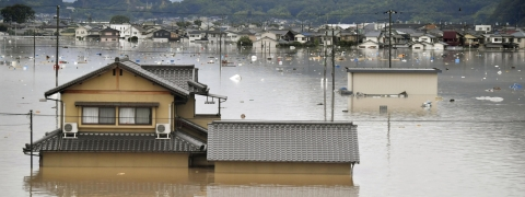 Eleven killed, at least 45 missing as torrential rain pounds Japan