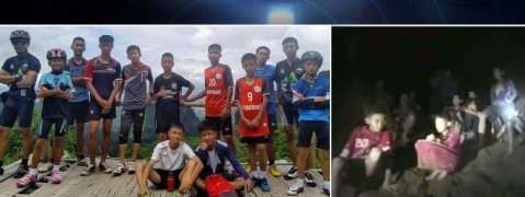Thai soccer team planned to be inside the cave for only an hour