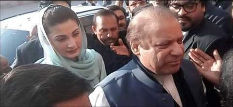 Nawaz, daughter arrested in Lahore
