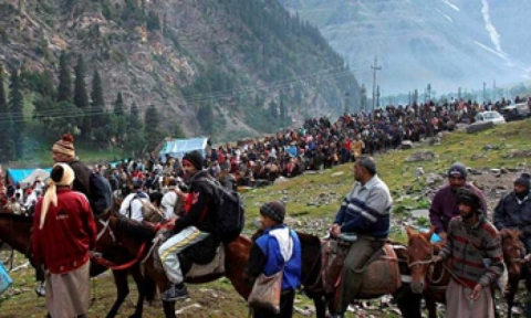 Amarnath yatra: Woman pilgrim dies of cardiac arrest at Baltal