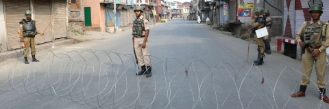 Burhan anniversary: All roads leading to Tral in Pulwama closed