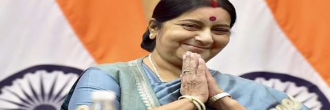 Govt officials' support for Sushma Swaraj