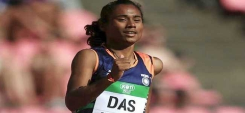 Hima Das clinches gold at World U-20 Athletics Championships