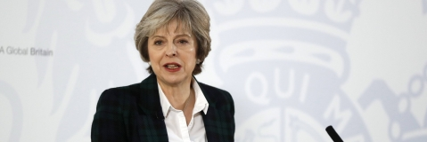 Britain's May sets out tech-driven plan for post-Brexit customs -BBC