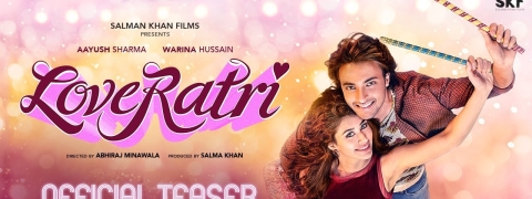 Sonam K Ahuja gives thumbs up for 'Loveratri' poster