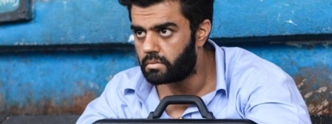 Maniesh Paul has no dialogues in his short film 'Black Briefcase'