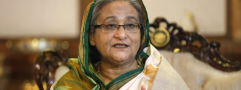 Sheikh Hasina sworn-in Bangladesh Prime Minister