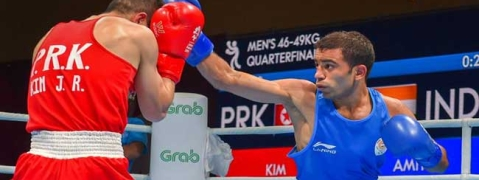 Asian Games: Amit Panghal breezes into finals