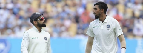 Ishant 5/51, England all out 180; India need 194 to win