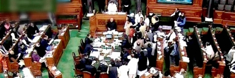 Deoria shelter case: SP, Cong, AITC walk out in LS