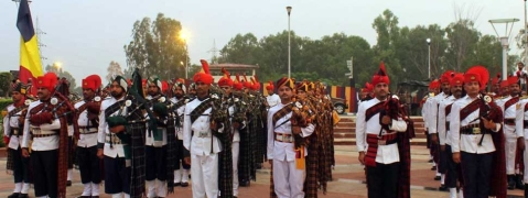 Army's band display at 'Balidan Stambh' mesmerises audience in Jammu