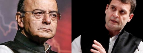 Finance Minister Arun Jaitley's questions to  Rahul Gandhi and his Party
