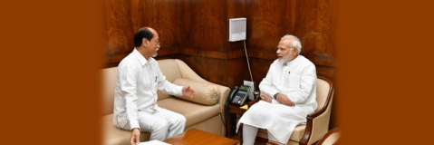 Nagaland CM meets PM in Delhi on rain calamities