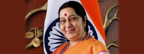 Sushma on three-nation tour to boost ties with Central Asian countries
