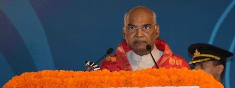 President participates in IIT-H Convocation