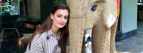 World Elephant Day: Dia Mirza launches wildlife anthem 'Mere Desh Ki Zameen'