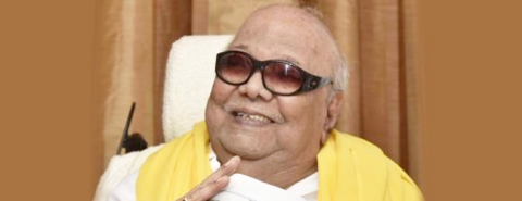 Celebrities condole death of DMK chief Karunanidhi