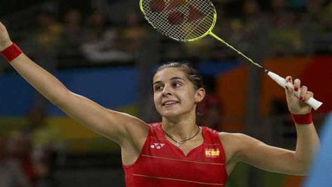 Spanish badminton Olympic champion Marin suffers broken cruciate ligament