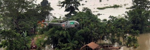 IAF drops relief material, as Nagaland struggles with flood