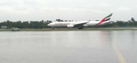 Kochi airport arrivals suspended after heavy rain
