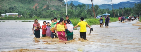 Heavy rainfall damage several parts of Nagaland